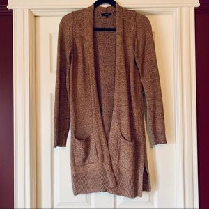 RW&Co Rose Knit Long Sweater // Cardigan